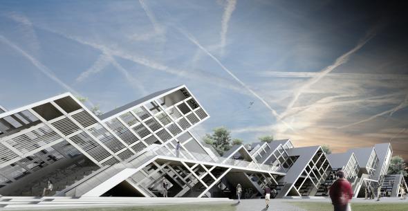 Modular Pavilion realizado por Prechteck