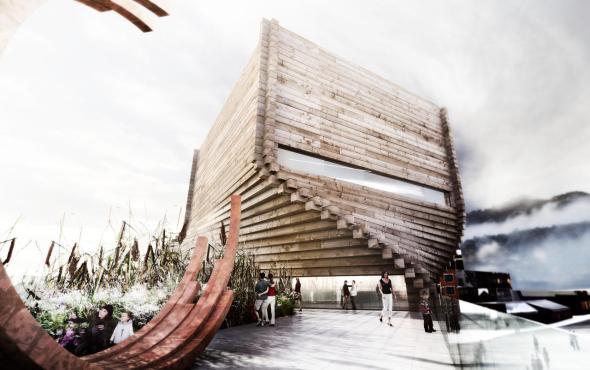 La madera, un material muy contemporáneo