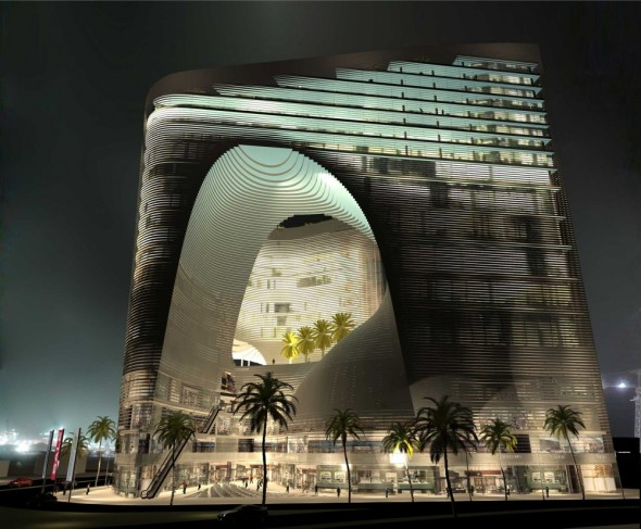 Office and Hotel Complex realizado por Hooman Balazadeh