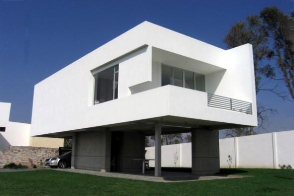 Geometría franca y estructura compleja. Casa Flat Issa / Dionne Arquitectos