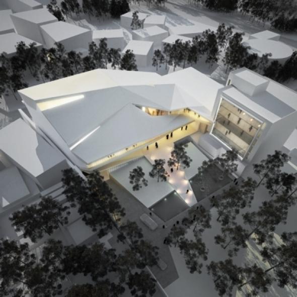 Salón de Música Roberto Cantoral / BROISSINarchitects