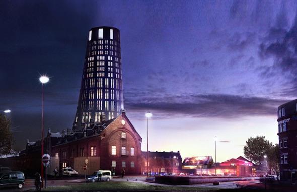 Nueva Jefatura de Policía en Charleroi / Jean Nouvel y MDW architecture