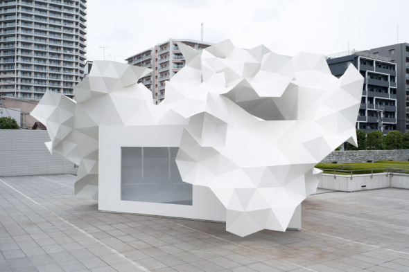 El triángulo como figura base: Bloomberg pavilion. Akihisa Hirata Architecture