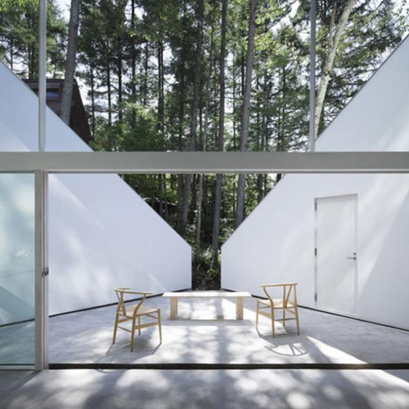 Casa de verano Forest Bath. Kyoko Ikuta Architecture Laboratory