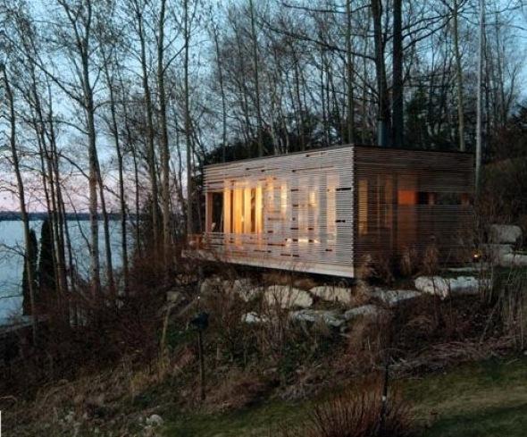 Cabaña Puesta de sol. Taylor Smyth Architects