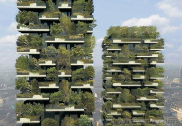 Bosco Verticale, el primer bosque vertical del mundo