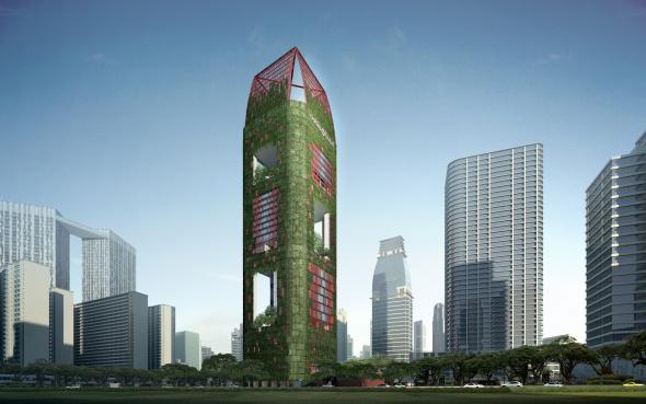 Creando alternativas en el paisaje para desarrollos de gran altura