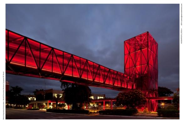 Museo del Chocolate Nestlé realizado por Metro Arquitetos Associados