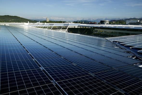Stade de Suisse, además de estadio es una planta de energía