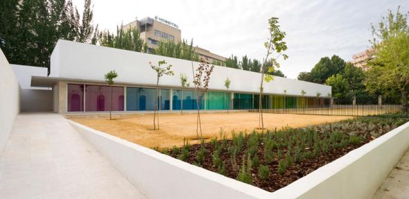 Jardín de Niños y Comedor Municipal. Arquitecta Elisa Valero