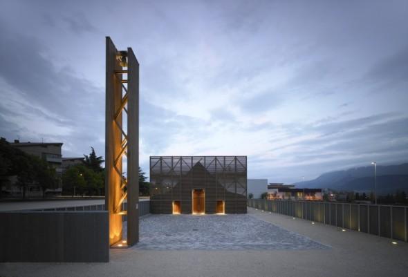 Complejo religioso en L'Aquila. Antonio Citterio Patricia Viel and Partners