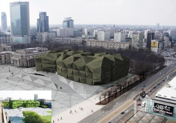 Museo de Arte Contemporáneo de Varsovia, diseñado por Camilo Rebelo y Susana Martins