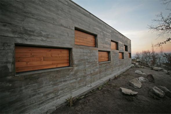 Una Arquitectura Mimtica Casa Ladeira Oficina D