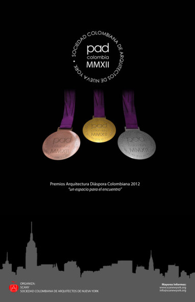 Premios Arquitectura Diaspora Colombiana 2012