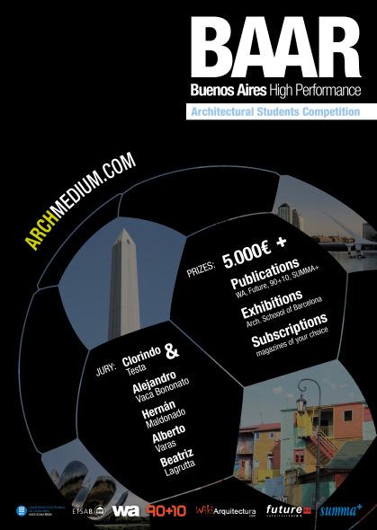 BAAR Concurso para estudiantes de Arquitectura