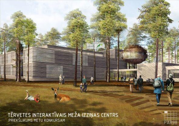 Centro de Investigación Interactivo en el Bosque