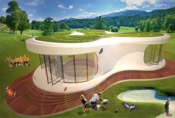 Aula del futuro realizado por LAVA Architects