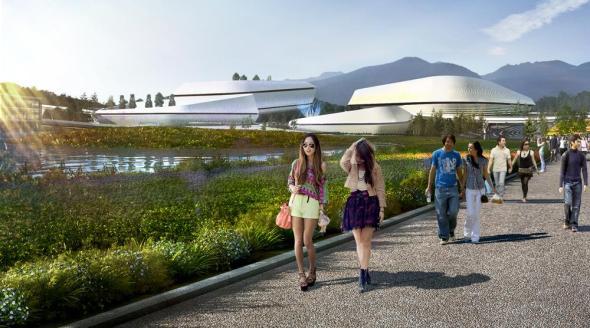¿Lo verde está de moda o es nuestro futuro?, por eso la creación de un pabellón para Exposición Internacional de Horticultura