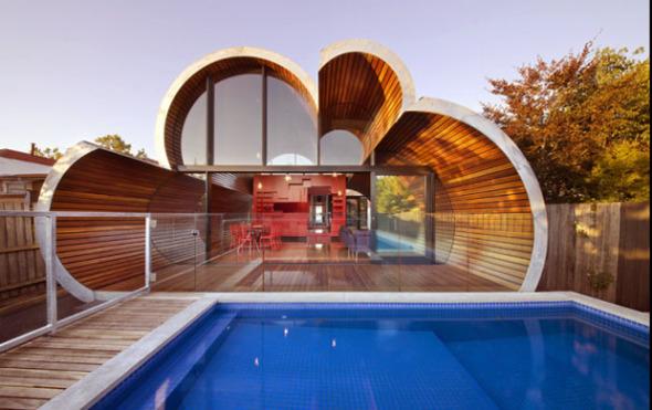 Casa Nube una ampliación para una casa en Melbourne. McBride Charles Ryan