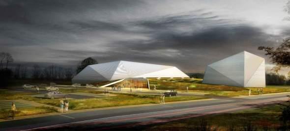 Gymnasium 'Palais des Sports de Loudéac' realizado por Bohuon Bertic Architectes