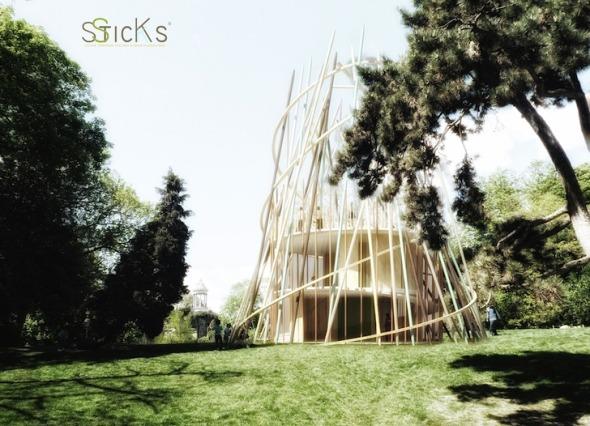 Lúdicos diseños para espacios infantiles: Guarderías Sticks. Djuric Tardio