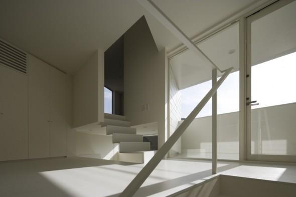Casa periscopio kuno aida noticias de arquitectura for Espacios minimos arquitectura