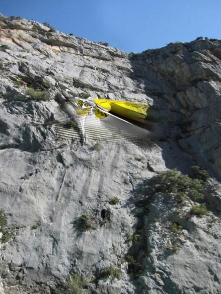 Hanging Hotel, un campamento suspendido en la montaña