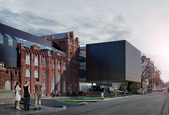 Una solución muy flexible: Museo de las Artes en Kiev / FORMA