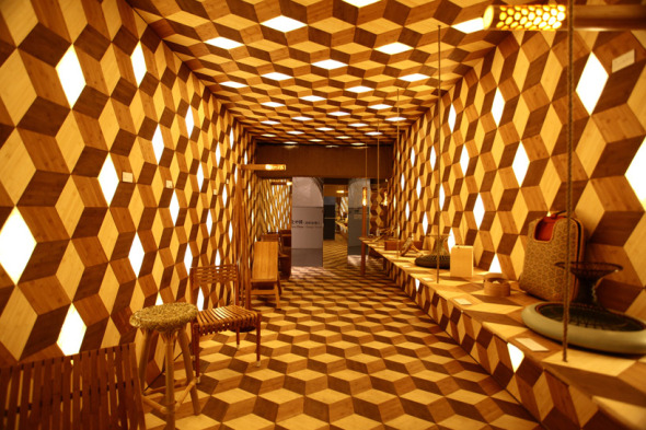 LED Bamboo / Jeff Dah-Yue SHI