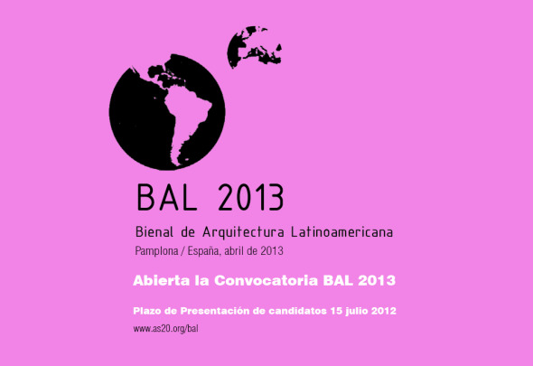 Bienal de Arquitectura Latinoamericana 2013