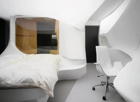 Un hotel futurista. LAVA