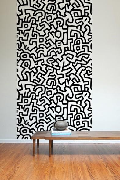 Paneles Adhesivos inspirados en la obra del artista pop Keith Haring
