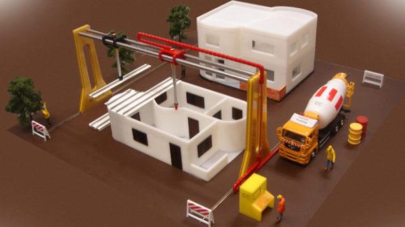 Construir viviendas en pocos días o incluso horas