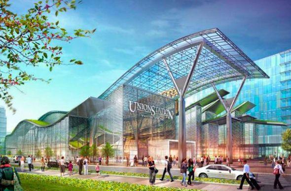 Ambicioso Eco-Plan para la estación de la capital de EE.UU.