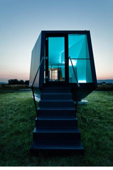 Nuevas propuestas para vacacionar: Un modelo de hotel que puede transportarse hacia diferentes lugares