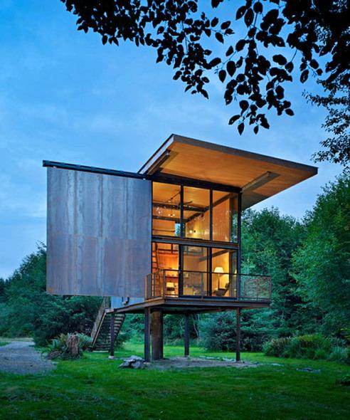 Unidad entre el ser humano, su entorno cultural y ecol�gico: La obra de Olson Kundig Architects.