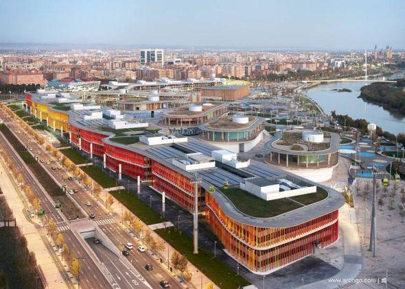 Lúdicos y coloridos edificios. Edificios Ronda / Estudio Lamela
