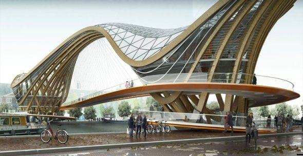 Un innovador puente para la ciudad de Amsterdam / Laurent-Saint Val