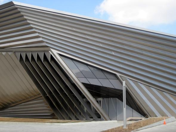 Obra en acero de Zaha Hadid pronto a inaugurarse