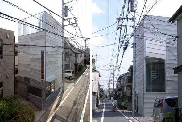 Casa de cuatro niveles en un terreno de 34m