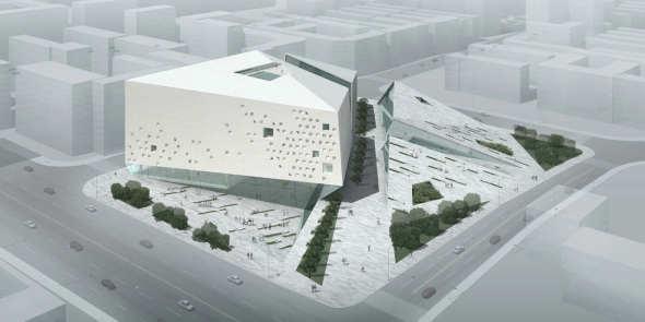 Museo de arte moderno de chengdu studio ramoprimo for Planos de restaurantes modernos