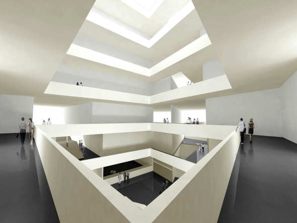 Museo de Arte Moderno de Chengdu. Studio Ramoprimo
