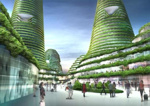 Dos propuestas de arquitectura y urbanismo ecol gico de for Arquitectura y urbanismo