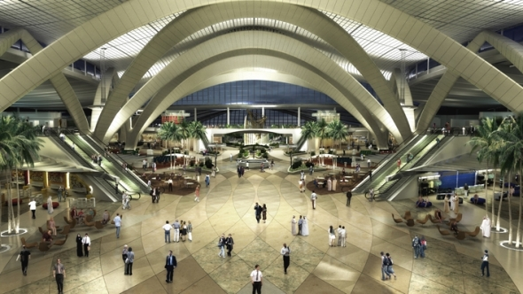 Aeropuerto internacional de abu dhabi kohn pedersen fox for International decor uae