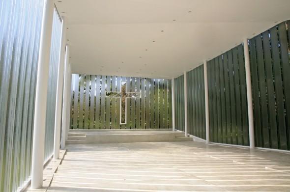 Capilla la estancia bnkr arquitectura noticias de for Capillas de velacion jardin de los pinos