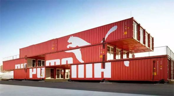 Arquitectura hecha con contenedores