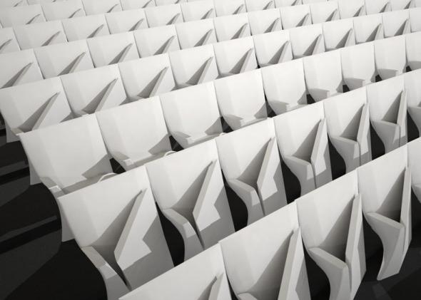 Zaha Hadid diseña sillas