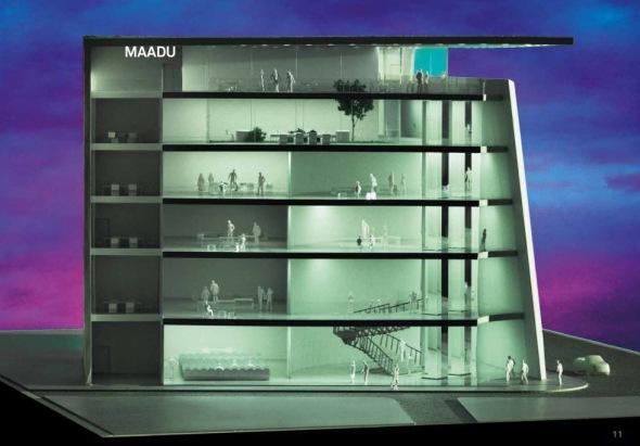 Nuevo Museo para la arquitectura y el urbanismo en Madrid