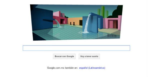 Google celebra a Luis Barragán con doodle