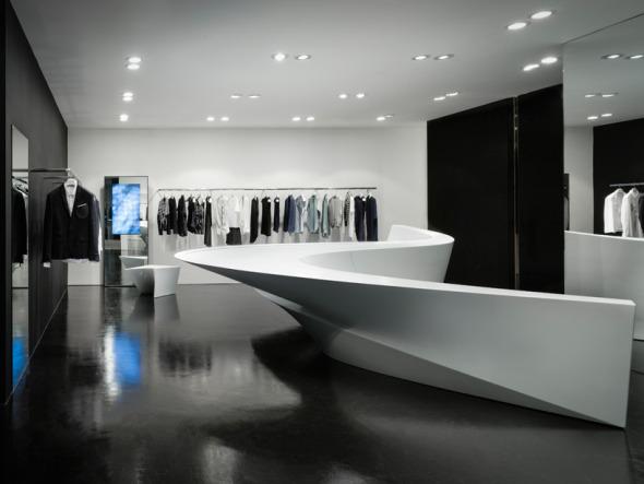 La tienda escultórica de Zaha Hadid